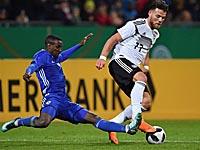 Молодежный чемпионат Европы: немцы разгромили сборную Израиля