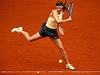 Мадрид: Мария Шарапова победила Кристину Младенович