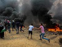 """Арабские акции протеста в Израиле и ПА: в Эль-Бире впервые применены """"газовые БПЛА"""""""