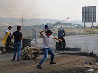 Около 1300 арабов участвуют в столкновениях с военными в Иудее и Самарии