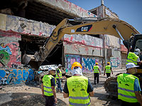 """В Тель-Авиве начался демонтаж здания дискотеки """"Дольфи"""""""