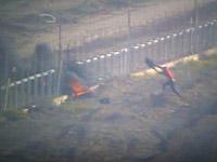 При проведении операции по задержанию диверсантов израильские солдаты подверглись обстрелу со стороны сектора Газы