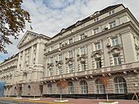 Штаб-квартира СБУ на Владимирской улице в Киеве
