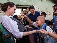 Анджелина Джоли  в Мосуле. 16 июня 2018 года