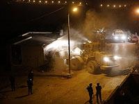 Разрушение дома террориста в деревне Кубар. 28 августа 2018 года