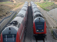 """Прервано движение поездов между станцией """"Малха"""" в Иерусалиме и Бейт-Шемешем"""