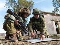 ЦАХАЛ проводит учения в районе поселка Элиаким на севере Израиля