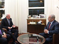 Биньямин Нетаниягу встретился с посланником США в Сирии Джеймсом Джеффри