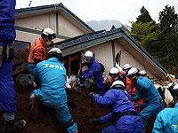 После землетрясения в Японии (архив)