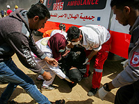 """Минздрав Газы об итогах """"марша"""": трое убитых, 248 пострадавших"""