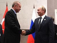 Эрдоган отправляется в Сочи на переговоры с Путиным