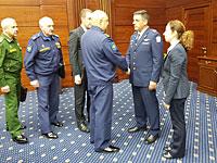 Командующий израильскими ВВС генерал-майор Амикам Норкин в Москве. 20 сентября 2018 года