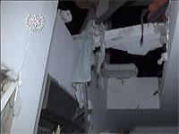 На месте падения ракеты в Беэр-Шеве, 17 октября 2018 года