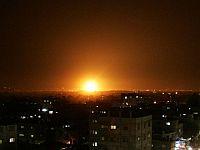 ВВС ЦАХАЛа в ответ на ракетный обстрел нанесли серию ударов по сектору Газы