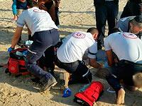 Иностранный турист погиб, купаясь в Мертвом море