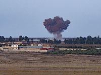Вид на Сирию с границы Израиля (архив)