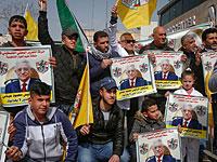 Тысячи жителей сектора Газы вышли на улицы, требуя отставки Махмуда Аббаса