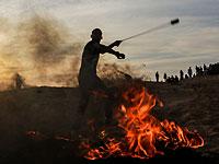 Сотни взрывных устройств брошены в израильских военнослужащих на границе с Газой
