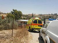 На территории регионального совета Мате-Йегуда погиб мужчина