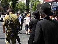 В квартале Меа-Шеарим военнослужащий подвергся нападению толпы ультраортодоксов
