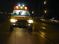 Ночные ДТП на дорогах Израиля: один погибший, один пострадавший