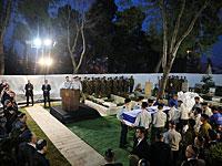 Похороны Захарии Баумеля на горе Герцля, 4 апреля 2019 года