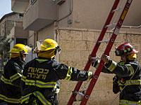 Пожар в жилом доме в Бат-Яме: мужчина в тяжелом состоянии