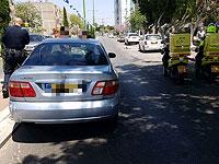На месте происшествия в Ашкелоне. 28 апреля 2019 года