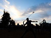 """Палестинские источники: возле Рас Каркар трое арабов подверглись """"каменной атаке"""""""