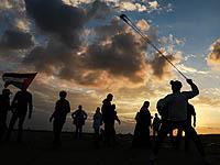 """Участники """"марша возвращения"""" в Газе"""