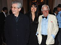 Клод Лелуш, Валери Перрин и Шарль Жерар в 2011 году