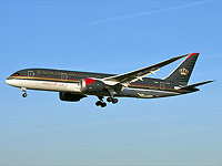 Лайнер Royal Jordanian Boeing 787-8