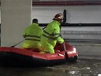 Наводнение на станции Ашкелон, 9 декабря 2019 года