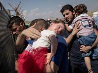 IHH: к турецкой границе устремились 125.000 беженцев