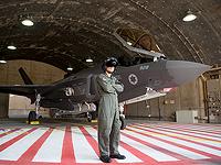 F-35i в ангаре