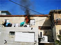 Пожар в Ашкелоне, женщина госпитализирована в тяжелом состоянии