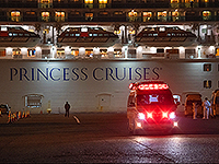 Diamond Princess на карантине. Плавучий госпиталь у берегов Японии