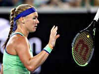 Теннис. Победительницей турнира в Санкт-Петербурге стала Кики Бертенс