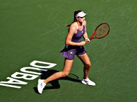 Первой полуфиналисткой турнира в Дубае стала Елена Рыбакина