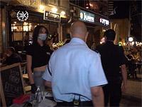 """""""Карантинный патруль"""": полиция проинспектировала сотни ресторанов, пабов, баров и клубов в центре Израиля"""