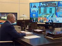РИА Новости: Израиль заинтересовался туннелем для дезинфекции, установленным в резиденции Путина