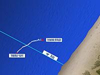 Бойцы ВМС ЦАХАЛа задержали пловца из Газы, нарушившего морскую границу Израиля