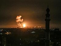 ЦАХАЛ нанес удары по объектам ХАМАСа в секторе Газы