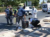 Полиция: убийство израильтянина в Петах-Тикве, скорее всего, было терактом