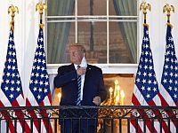 Лечащий врач президента США: Трамп может выйти из режима самоизоляции