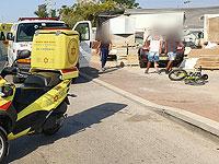 В Ашкелоне грузовик насмерть сбил мальчика, ехавшего на велосипеде
