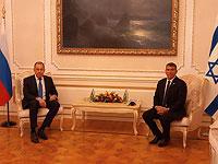 Встреча Сергея Лаврова и Габи Ашкенази
