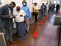На одном из избирательных участков Нью-Гэмпшира. 3 ноября 2020 года