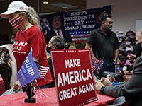 """Трамп заявил о своей победе и о попытке """"украсть"""" выборы"""
