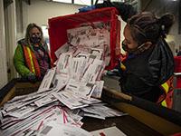 Почта США: более 150 тысяч бюллетеней избирателей не были доставлены ко дню выборов